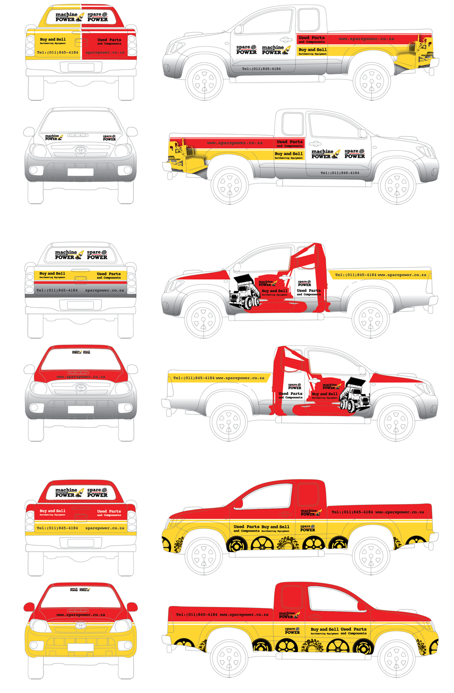 Spare Power vehicle wraps